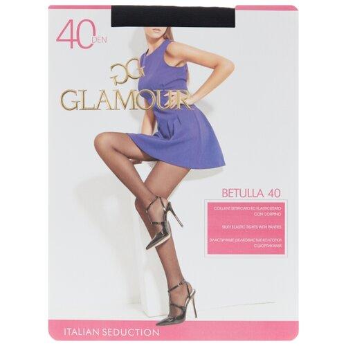 Колготки Glamour Betulla 40 den, размер 3-M, nero (черный) колготки glamour velour 3 70 den черный