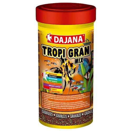 Сухой корм Dajana Pet Tropi Gran Mix для рыб 250 мл 130 г