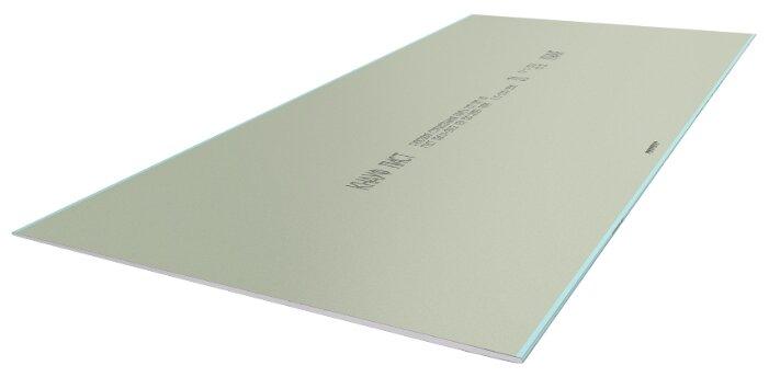 Гипсокартонный лист (ГКЛ) KNAUF ГСП-DFН2 огне-влагостойкий 2500х1200х12.5мм
