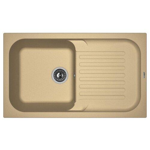 Врезная кухонная мойка 86 см FLORENTINA Арона-860 FS капучино врезная кухонная мойка 86 см florentina крит 860 fs бежевый