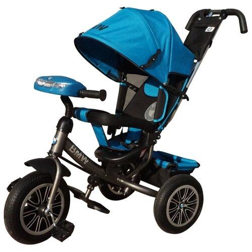 Купить Трехколесный велосипед Shantou City Daxiang Plastic Toys BMW-M-N1210 голубой, Трехколесные велосипеды