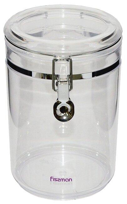 Хранение продуктов Fissman Банка для сыпучих продуктов 13x20 см / 1,9 л (акрил)