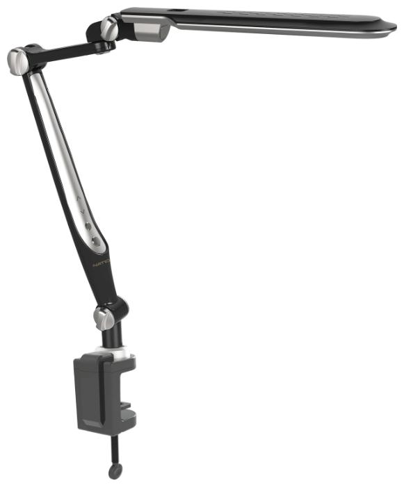 Светильник настольный светодиодный National NL-72LED струбцина (SL-TL316 Black)