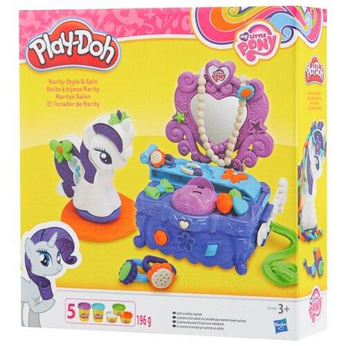 Купить Масса для лепки Play-Doh Туалетный столик Рарити (B3400), Пластилин и масса для лепки