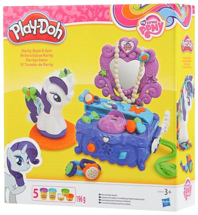 Масса для лепки Play Doh Туалетный столик