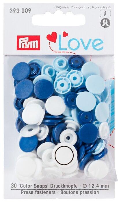 Prym Кнопки непришивные Love - Color Snaps (3930**), 12.4 мм, 30 шт.