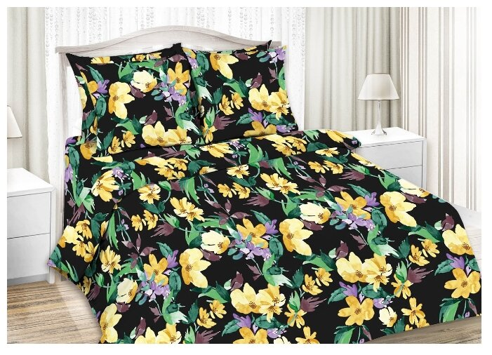 Постельное белье 1.5-спальное Мирослава Флоранс 70 x 70 сатин