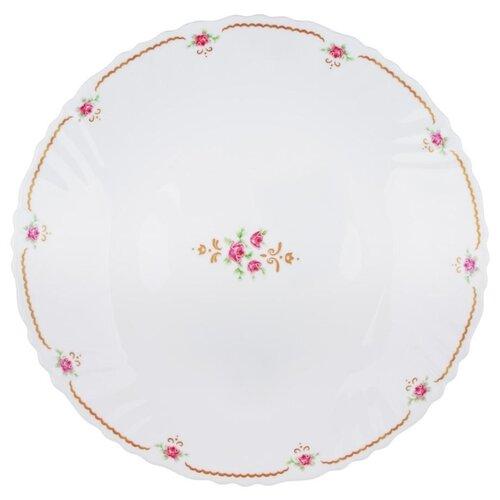 Millimi Тарелка десертная Наяда 19 см белый rosenthal versace ikarus medusa десертная тарелка 11 5 см