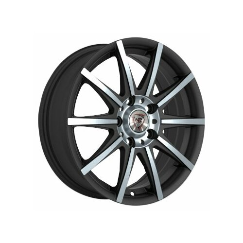 Колесный диск NZ Wheels F-7 7x16/5x108 D67.1 ET45 BKF nz f 6 7x16 5x114 3 d67 1 et45 bkf