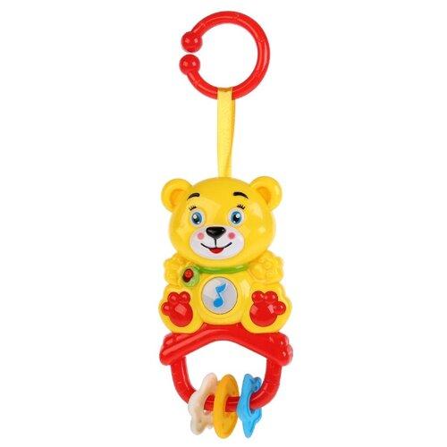 Подвесная игрушка Умка Мишка (HT773C-R) желтый/красныйПодвески<br>