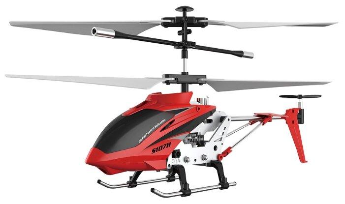 Вертолет Syma Phantom (S107H) 22 см красный фото 1