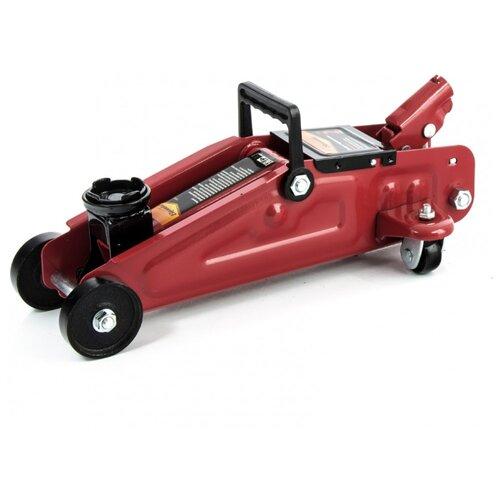 Домкрат подкатной гидравлический Sparta 510085 (2 т) красный