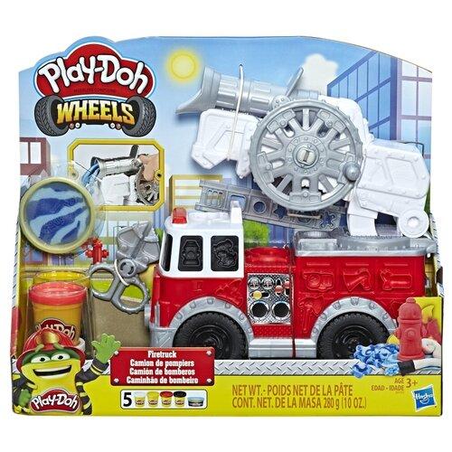 Масса для лепки Play-Doh Пожарная машина (E6103) play doh play doh малыши динозаврики