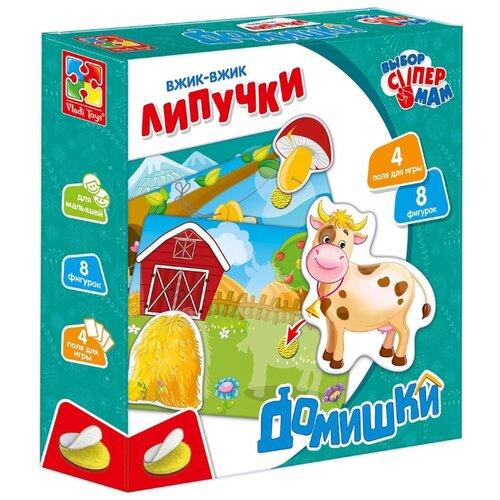 Настольная игра Vladi Toys Липучки Домишки VT1302-20 фото