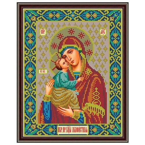 Купить Набор для вышивания бисером Икона Божией Матери «Акафистная» 21 x 27 см И062, Galla Collection, Наборы для вышивания