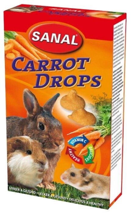 Лакомство для кроликов, грызунов SANAL Carrot Drops