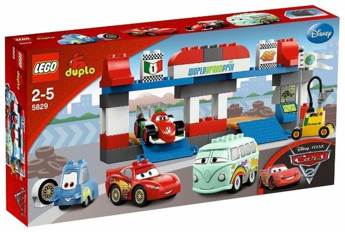 Конструктор LEGO DUPLO 5829 Пит-стоп
