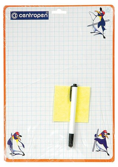 Доска для рисования детская centropen двухсторонняя (7779)