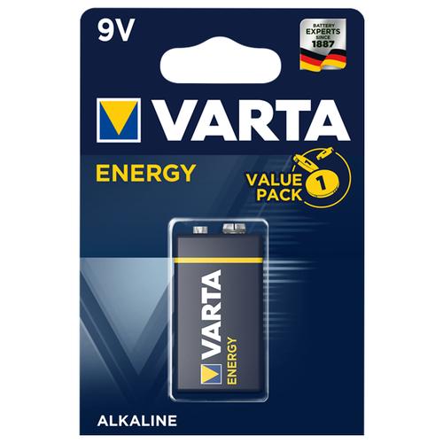 Фото - Батарейка VARTA ENERGY 9V Крона, 1 шт. батарейка varta cr p2 1 шт
