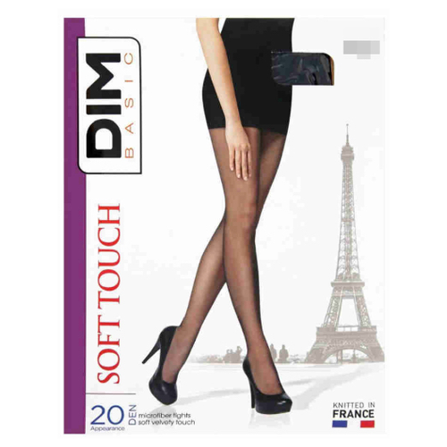 Колготки DIM Basic Soft Touch 20 den черный 3 (DIM)Колготки и чулки<br>