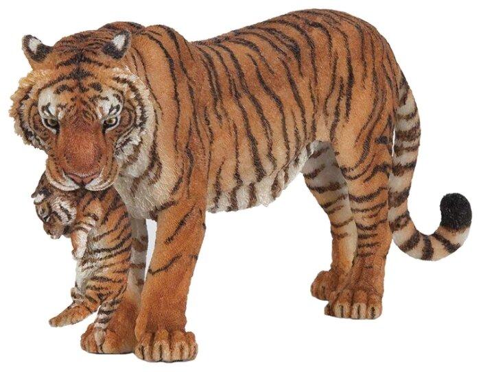 Фигурка Papo Тигрица с тигренком 50118