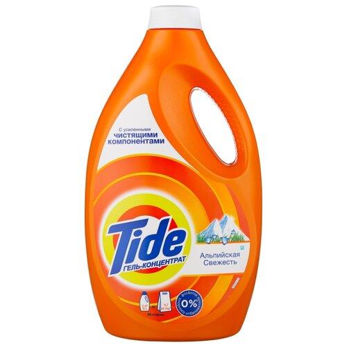 Гель Tide для белого и цветного Альпийская свежесть, 2.47 л, бутылка капсулы альпийская свежесть tide