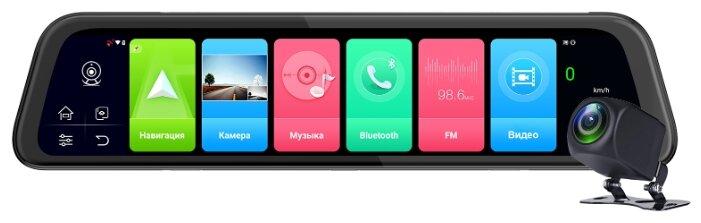 Видеорегистратор TrendVision aMirror 12 Android, 2 камеры, GPS — купить по выгодной цене на Яндекс.Маркете