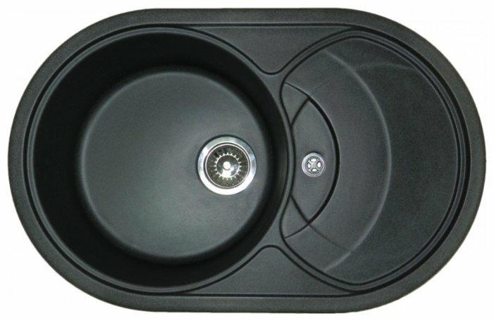 Врезная кухонная мойка Granula 7801 78х50см искусственный гранит