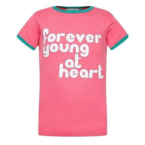 Купить Футболка Molo размер 116, розовый, Футболки и майки