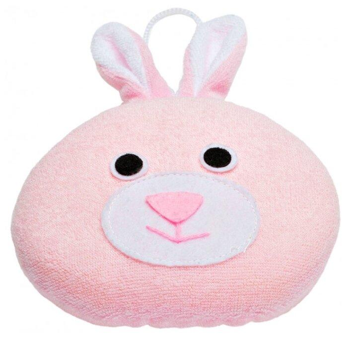 Губка ROXY-KIDS Rabbit с махровым покрытием