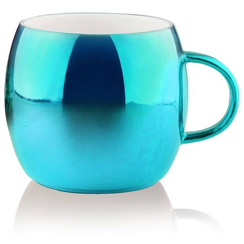 Asobu Кружка Sparkling mugs 380 мл голубой
