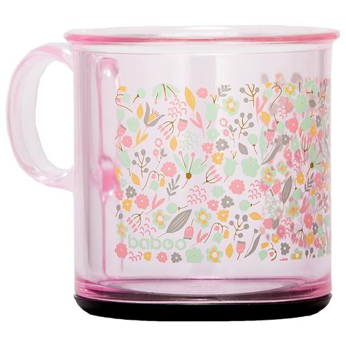 Фото - Чашка baboo Flora (8-101) розовый поильник baboo flora 8 104 розовый