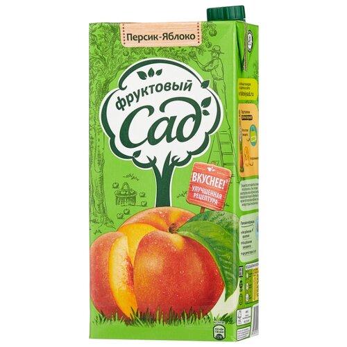 цена на Нектар Фруктовый сад Яблоко-Персик, с крышкой, 1.93 л