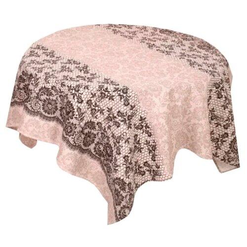 Скатерть Текстильная лавка Кружево (Скр_180_7) 150х180 см коричневыйСкатерти и салфетки<br>