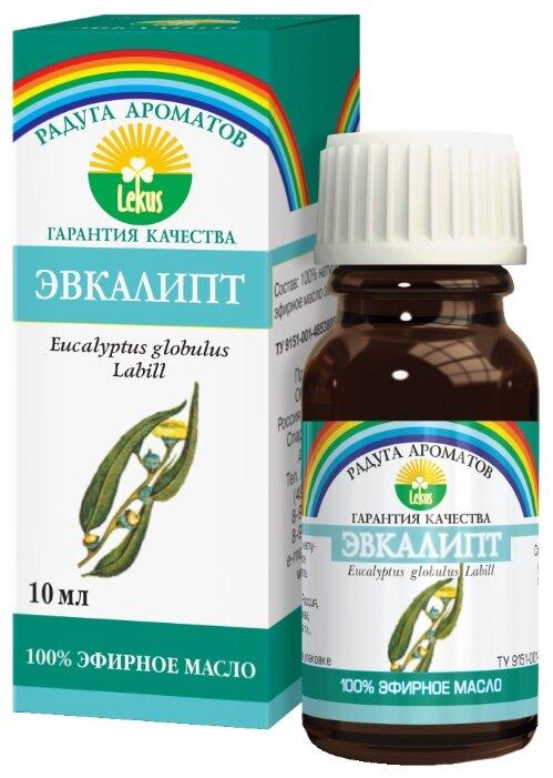 ЛЕКУС эфирное масло Радуга ароматов Эвкалипт 10 мл