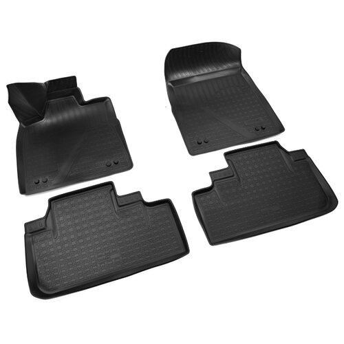 Комплект ковриков NorPlast NPA10-C47-755 4 шт. черный