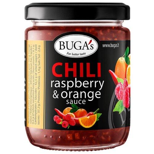 Соус BUGA's Малиново-апельсиновый с перцем чили апельсиновый мармелад шикарный апельсиновый мармеладный джем 10 унций 284 г