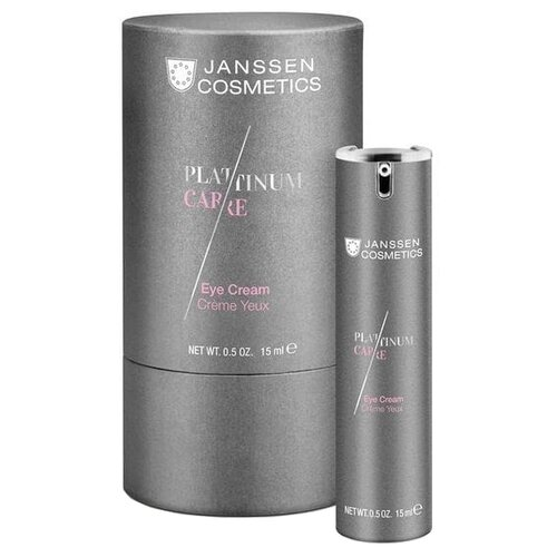 Крем Janssen Platinum care для кожи вокруг глаз реструктурирующий 15 мл недорого