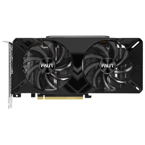 Видеокарта Palit GeForce GTX 1660 Ti 1500MHz PCI-E 3.0 6144MB 12000MHz 192 bit DVI HDMI HDCP Dual OC Retail