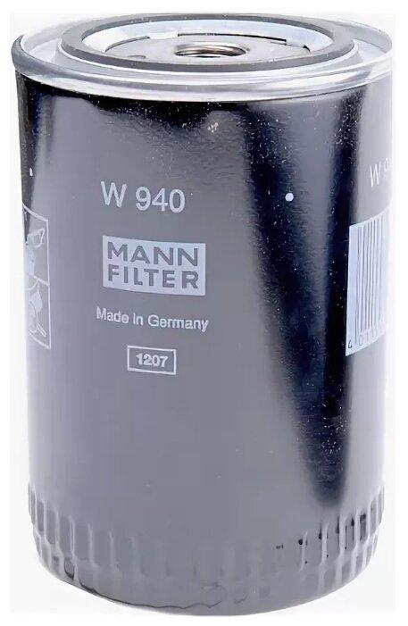Масляный фильтр MANNFILTER W940