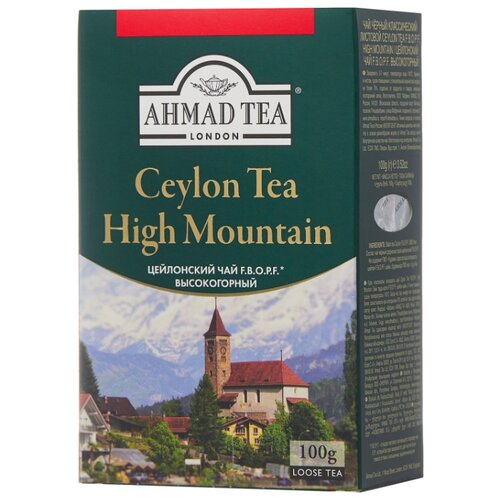 Чай черный Ahmad tea Ceylon tea F.B.O.P.F. high mountain , 100 г чай фруктовый ahmad tea healthy