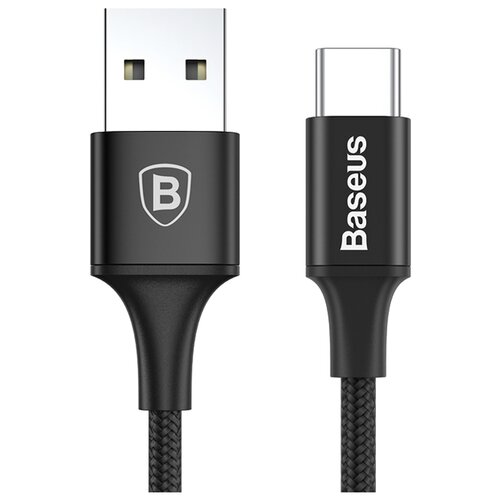 Кабель Baseus Rapid Series USB - USB Type-C (CATSU) 2 м черный