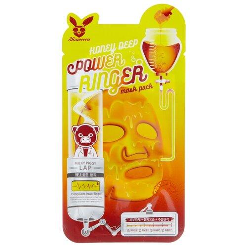 Elizavecca питательная тканевая маска с экстрактом мёда Honey Deep Power Ringer Mask Pack, 23 мл недорого