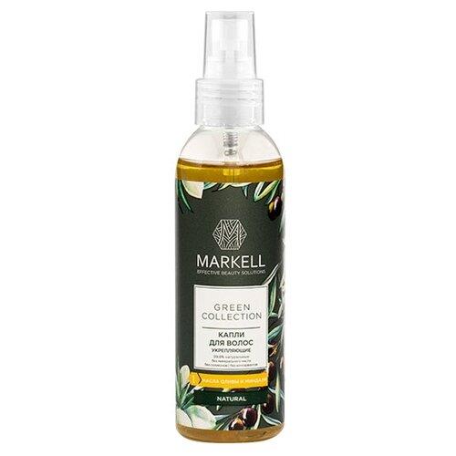 Markell Green Collection Капли для волос укрепляющие, 100 мл  - Купить