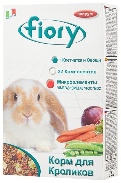 Корм для кроликов Fiory Superpremium Karaote