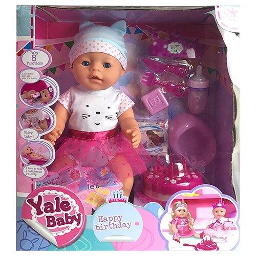Фото - Интерактивный пупс Tongde Yale Baby, BL025O интерактивный пупс baby doll