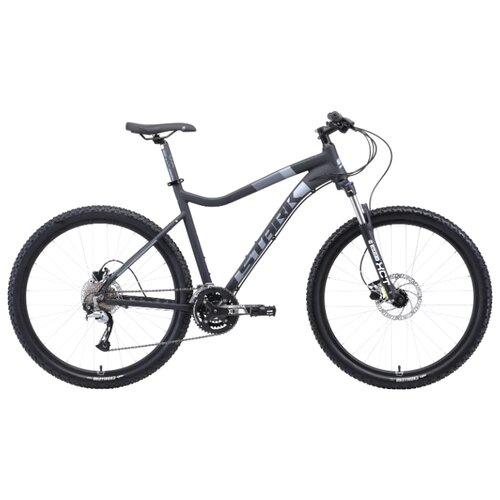 цена на Горный (MTB) велосипед STARK Tactic 27.5 HD (2019) серый/черный 18 (требует финальной сборки)