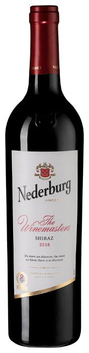 Вино Nederburg Shiraz Winemasters, 2017, 0.75 л