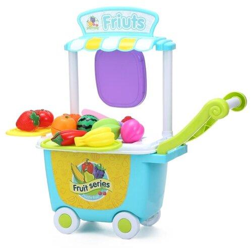 Купить Магазин Yuehui Toys Fruit Trolley Toy (84326), Играем в магазин