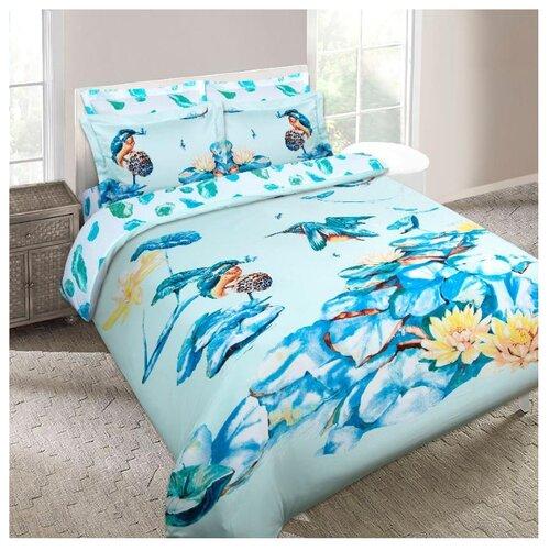 Постельное белье 2-спальное с евро простыней Mona Liza Zimorodok сатин постельное бельё евро сатин французский стиль постельное бельё евро сатин